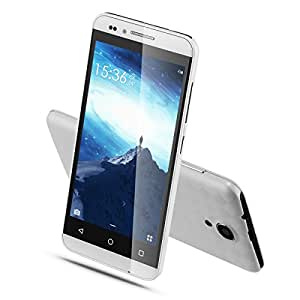 TSJYING Unlocked Smartphone with Dual Camera, 4.5 Inch, Anroid 5.1, MTK6580 Quad Core ROM, 4GB, Dual SIM, GSM/3G Quadband, WiFi Bluetooth (White)