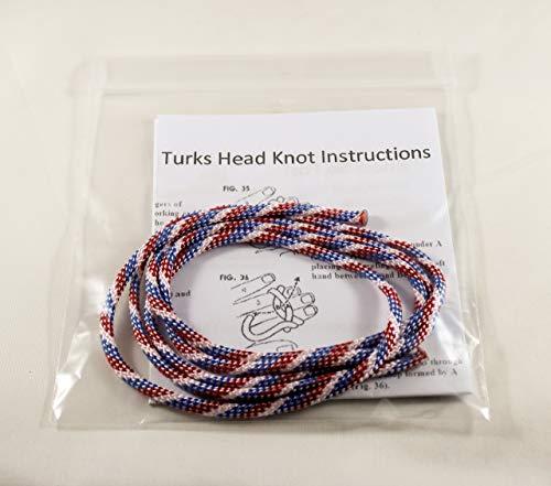 Head Turks - Scout Neckerchief Slide Woggle Turks Head Knot Kit