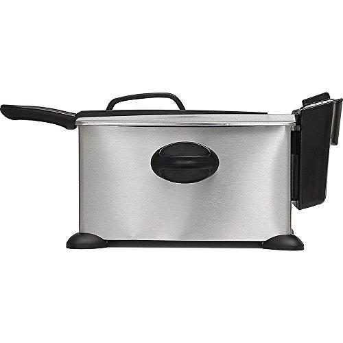 Bella Unisex Stainless Steel 1600W Deep Fryer Silver