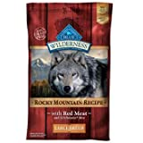 Blue Buffalo Wilderness Rocky Mountain Recipe with Red Meat Large Breed Adult Dog Food, 22 lbs., My Pet Supplies