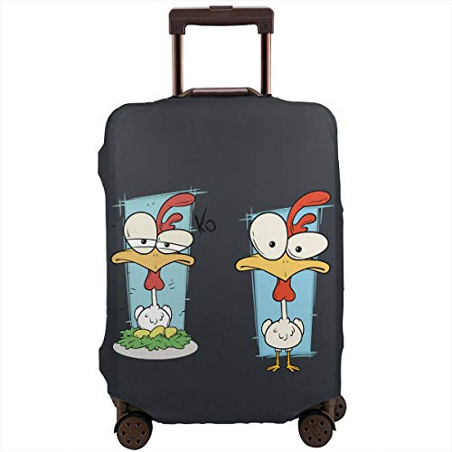 MKJIH Turkey Contest Travel Suitcase Protector Zipper Travel Luggage Cover Baggage Suitcase Protector Cover Fit 18-32 Inch