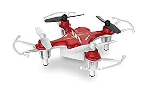 Syma X12S Nano 6-Axis Gyro 4 Channel 2.4G Transmitter RC Quadcopter with Headless function-Red