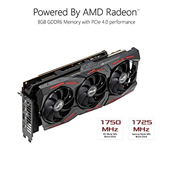 ASUS ROG Strix AMD Radeon RX 5700 Overclocked 8G GDDR6 HDMI DisplayPort Gaming Graphics Card (ROG-STRIX-RX5700-O8G-GAMING)