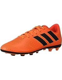 f445600e70ba adidas Unisex-Kids Nemeziz 18.4 Firm Ground Soccer Shoe