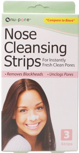 Nu-Pore Nose Cleansing Strips, Bulk Case of 48 by nu-pore