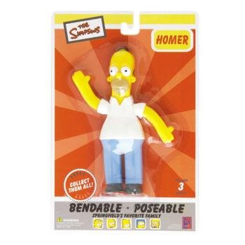 Homer Simpson Bendable - Case Pack 12 SKU-PAS393245