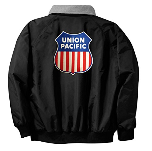 Union Pacific Logo Embroidered Jacket Front and Rear Adult 2XL [47r]