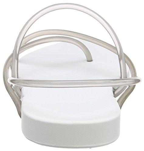 Ipanema Philippe Starck Thon G Fem Damen Zehentrenner Weiß (white/smoke 8474)