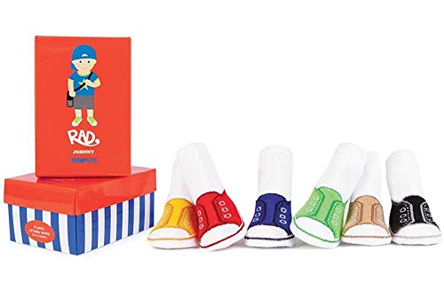 Trumpette 6 Pair Sock Set - Rad Johnny-0-12 Months