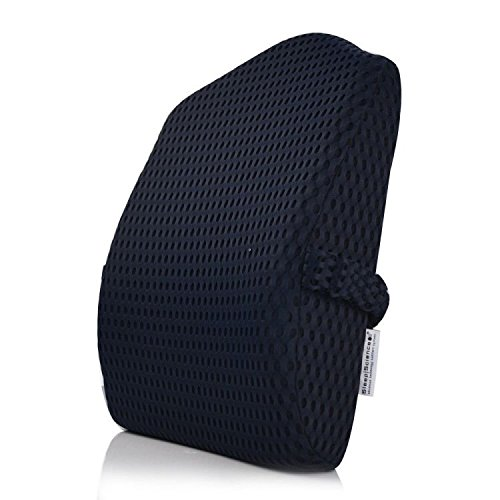 Sleep Science Patented Premium Ergonomic Lumbar Cushion/Pillow Lower Back Support Cushion Lower Back Pain Relief Lumbar Support Cushion/Pillow (Chair Full Cushion)