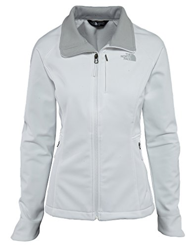The North Face Women's Apex Bionic Jacket TNF White/High Rise Grey (Prior Season) Outerwear