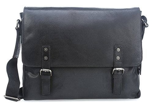 Leonhard Heyden Newport L 14'' Bolsa Badolera para ordenador portátil negro