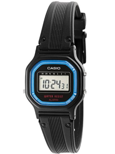 Casio Ladies Digital Stylish Watch with Daily Alarm, and Digital Stopwatch, with Countdown Timer, Hourly Time Signal, and Auto Calendar
