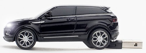 Click Car Mouse Range Rover Evoque 4GB USB 2.0 Stick, Black (CCS-RANGEROVER-BLACK) by Click Car Mouse (Image #2)
