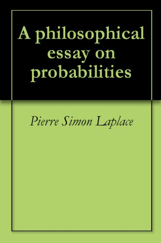 Gender Issues Essay A Philosophical Essay On Probabilities By Laplace Pierre Simon Immigrant Essay also Shakespeare In Love Essay A Philosophical Essay On Probabilities Pierre Simon Laplace  Evidence Based Practice In Nursing Essay