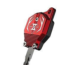 Thor-Ind Motorcycle Key Cover Case for Honda CB190 CB190R CB190X CBF190X Blue