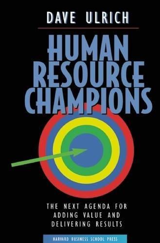 Human Resource Champions