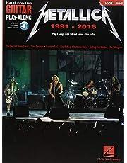 Metallica: 1991-2016: Guitar Play-Along Volume 196