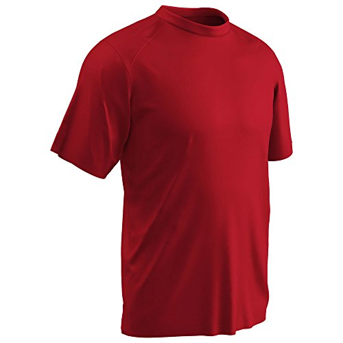 Champro Leader T-Shirt Scarlet Youth S BST85 BST85YSCS