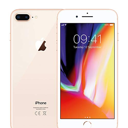 Apple iPhone 8 Plus 64GB Unlocked – Gold (Renewed)