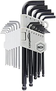 Amazonbasics Hex Key Allen Wrench Set With Ball End - 26-piece 2