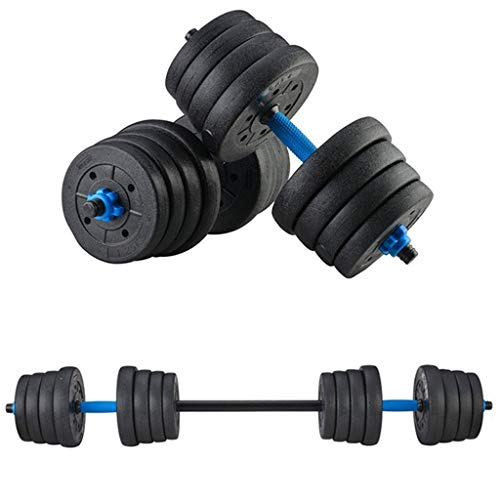 HTNBO Adjustable Weights Dumbbells Set, 1 Pair DIY Weight Dumbbell Exercise Fitness Dumbbells Removable Men's Home…