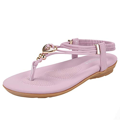 Women's Summer Bohemian Beaded Ankle Walking Strap