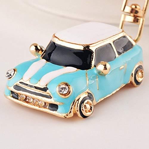 acbbb9b521 Key Rings Car Alloy Keychain Keyring Pendant Car Model Key Chain Ring  Holder for Mini Cooper