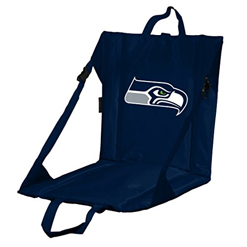 Logo Brands NFL Seattle Seahawks Stadium Seat, One Size, Navy ()