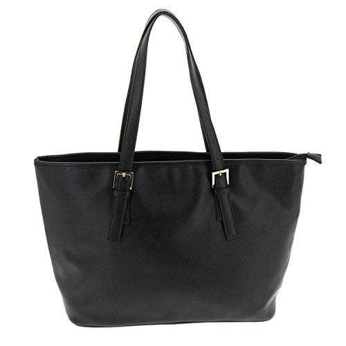 Fashiongen Bolsa de hombro, ALINE - Negro