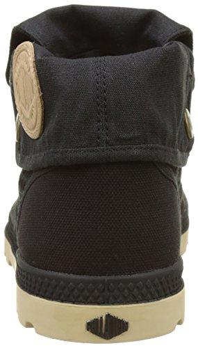 Palladium Baggy Low Lp - Zapatillas de casa Mujer Negro (Black/almond Buff)