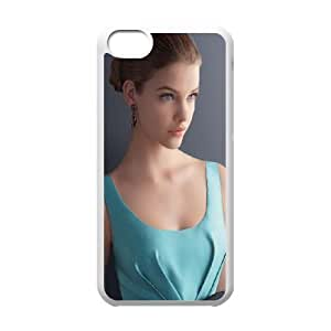 Celebrities Barbara Palvin In Blue Dress iPhone 5c Cell Phone Case White Delicate gift JIS_398657