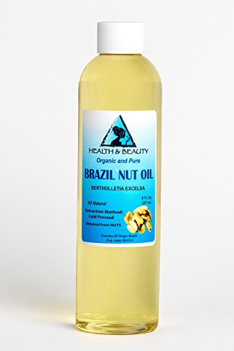 Brazil Nut Oil Organic Carrier Cold Pressed Natural Fresh 100% Pure 8 - Brazil Usps