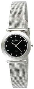 Skagen Women's 107SSSBD Stainless Steel Mesh Watch