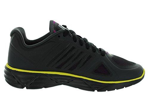 Nike Femmes Nike Wmns Lunaire Douce Victoire Ii + Chaussures De Course 8.5 (noir / Vvd Grp / Anthrct / Snc Yllw)