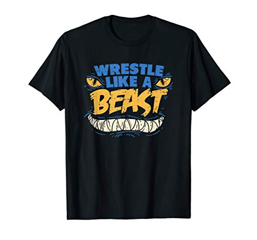 Wrestle Like a Beast Shirt Wrestling Workout Tee Girls Boys T-Shirt