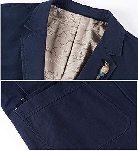 Corte Armee Classica Con Abbigliamento Da Cotone A Fibbia Lavoro Giacchette Qk Uomo In Giacche lannister Classiche Maniche 2 grün q8wZvpT