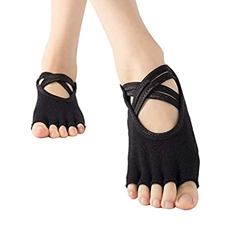 HUBINGRONG 3 Pares señoras Calcetines de Yoga de la Tanga de ...