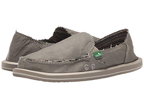 Sanuk Women's Donna Daily Slip-on Loafer (7 M US, Olive/Grey)