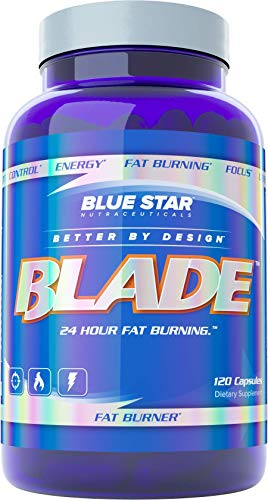 Blue Star BLADE Fat Burner for Men: Strongest Metabolism Booster Weight Loss Supplement and Energy Pills to Support Fast…