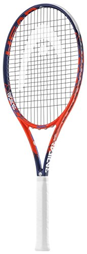 HEAD Graphene Touch Radical MP Tennis Racquet (Grip Size 4 1/4 inch) strung with Natural Tennis - Natural Tennis