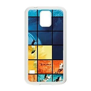 Custom Sea Sports Surfing Design Samsung Galaxy S5 Plastic Case Cover
