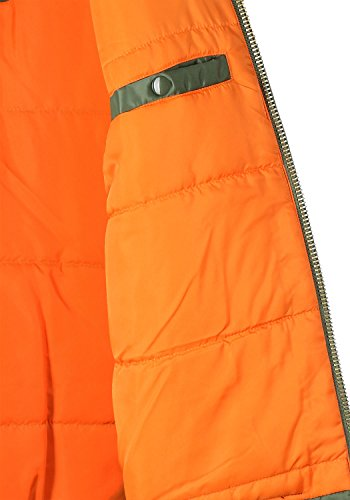 Alpha VF Verde 1 bombardero NASA chaqueta MA Hombre Logo Verde de Industries rqwxSr