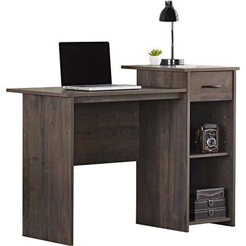 Ameriwood Basics Brooke Student Desk, Weathered Oak for sale  Delivered anywhere in USA