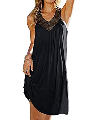 PAKULA® Women's Sexy Summer Boho Long Beach Evening Party Dresses Sundress