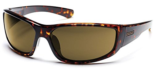 Suncloud Pursuit Sunglass (Brown Polar Lens, - Used S Sunglasses Men