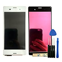 LCD Touch Screen Digitizer Assembly Fr Sony Xperia Z3 D6603 D6643 D6653 D6616 White