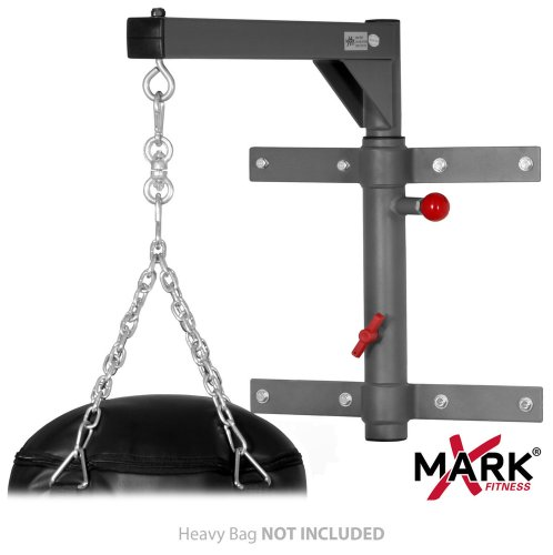 XMark Fitness Spacemiser Pivoting Heavy Bag Wall Mount XM...