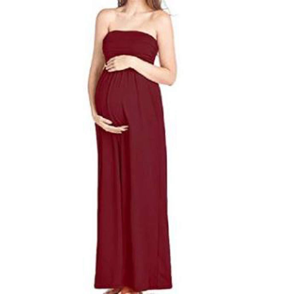 Lilliot - Vestido de Mujer para Embarazadas, sin Mangas, con Pecho ...