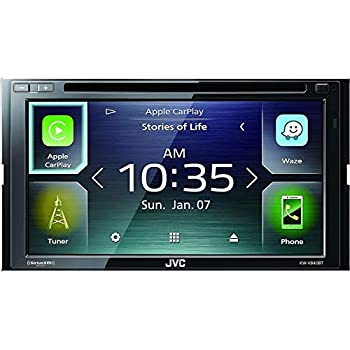 JVC KW-V840BT compatible with Android Auto / Apple CarPlay CD/DVD Stereo /  JVC WebLink